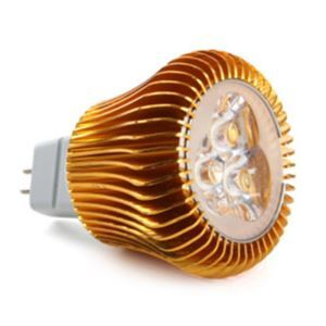 MR16 LED Spotlight Gold Color