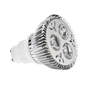 GU10 LED PAR Light Silver Color