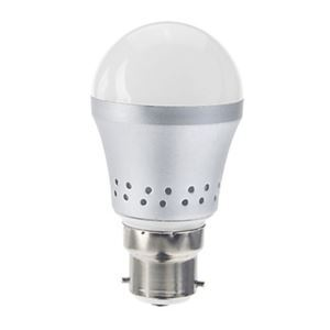 B22 led Light Bulb 3W 240lm Beam Angle 180°SMD 5050 AC85-265V Silver Led Globe Bulb