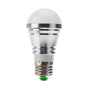 E27 led Light Bulb 5W 400lm Beam Angle 180°SMD 5050 AC85-265V Silver Led Globe Bulb