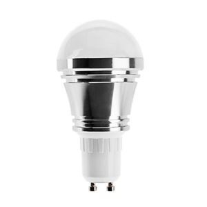 GU10 led Light Bulb 5W 400lm Beam Angle 180°SMD 5050 AC85-265V Silver Led Globe Bulb