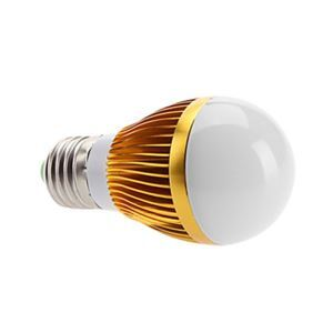 E27 led Light Bulb 5W 560lm Beam Angle 180°SMD 5050 AC85-265V Golden Led Globe Bulb
