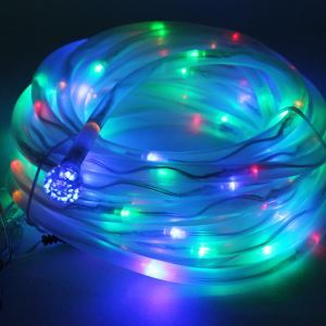 Colorful Solar 100 LED Stripe Lights Decorative Party Garden Stripe Lights