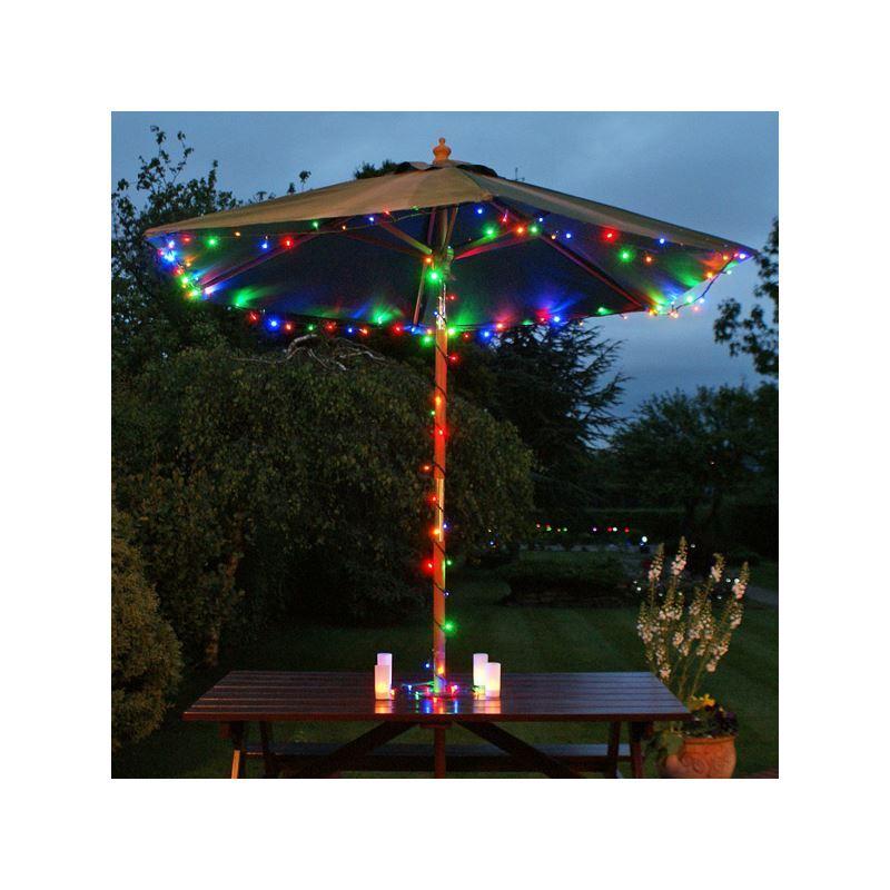 lights 22m solar 200 leds colorful landscape lighting christmas