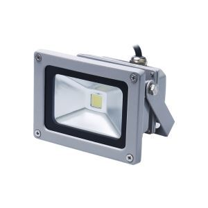 10W Grey led Flood Light 800LM NW/WW AC85-265V