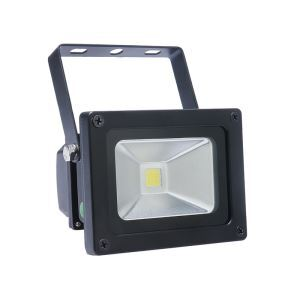 10W Black Flood Light 800LM NW/WW AC85-265V