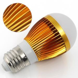 e27 3w led Golden 270lm WW/NW 2800-6500k AC85-265V LED Globe Bulbs