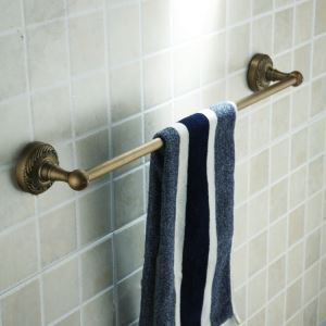 Antique Vintage Wall-mounted Single Towel Bar