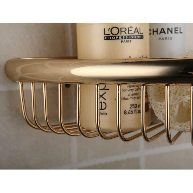 Bathroom - Bath Shelves - Modern Contemporary Golden Triangle Chrome ...