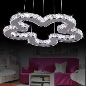 Modern Simple Artistic Stainless Steel LED Pendant Light