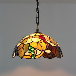 Tiffany 2 - Light Pendent Lights with Manully Paste Finish