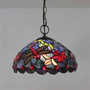 Tiffany Pendant Light with 2 Light