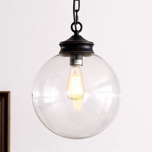60W E27 Pendent Light in Ball Feature