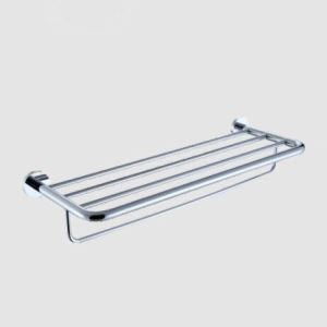 Wall Mount Silver Contemporary Chrome Finish Solid Brass Towel Bars