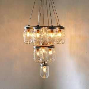 Northern American Retro Glass Pendant light with 10 lights Dining Room Lighting Ideas Living Room Bedroom Lighting