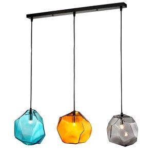 Contemporary Fashion Colorful Pendant light with three lights