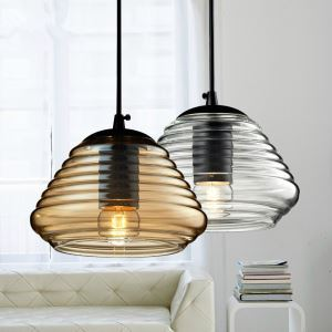 American Industrial Retro Mini Glass Pendant Light Dining Room Lighting Ideas Living Room Bedroom Lighting