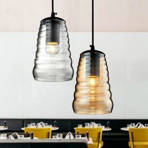 Industrial Retro American Country Style Mini Glass Pendant Light Dining Room Lighting Ideas Living Room Bedroom Lighting