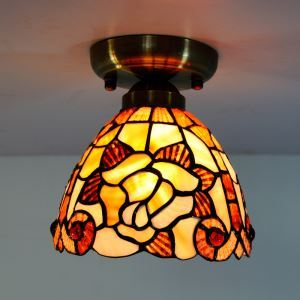 Mini Shell Tiffany Ceiling Light