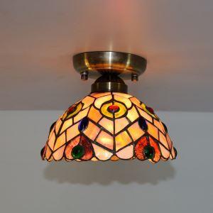 Mini Shell Tiffany Ceiling Light