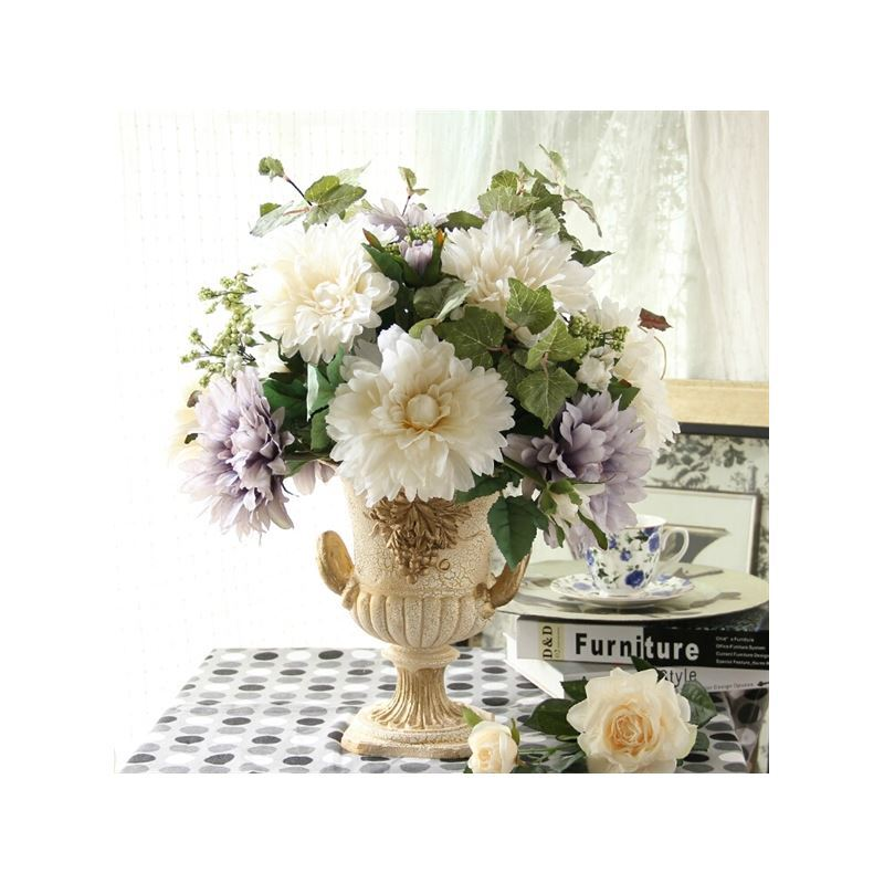 home decor floral arrangements beatiful chrysanthemum sets