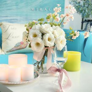 Roses+Hydrangea+Cherry Blossoms Silk Flower