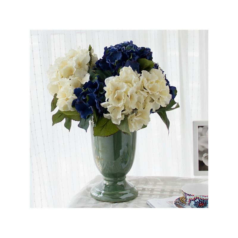 home decor floral arrangements peony silk flowers