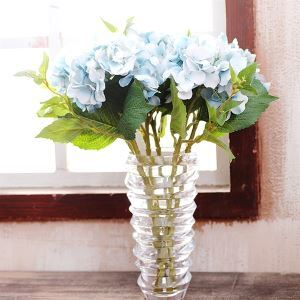 French Classic Hydrangea Silk Flowers Arrangement