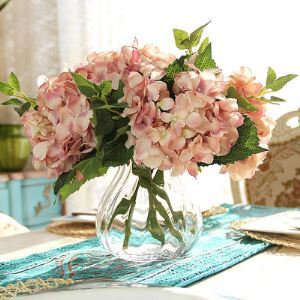 French Classic Hydrangea Silk Flowers