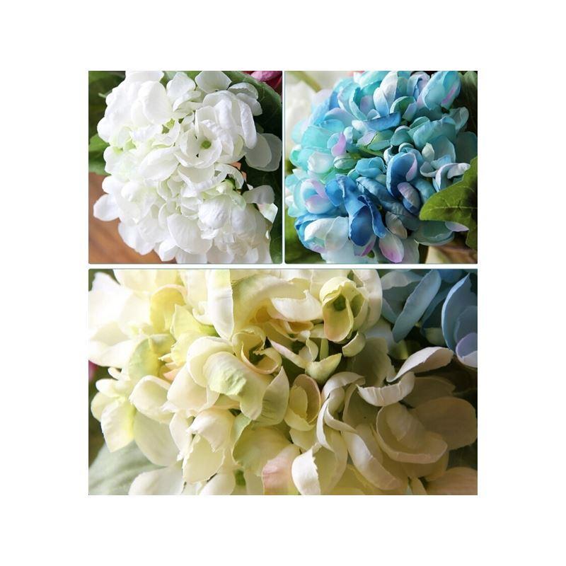 Home Decor Floral Arrangements Baroque Hydrangea