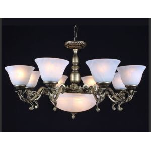 Stylish Chandelier with 11 Light in Antique Style