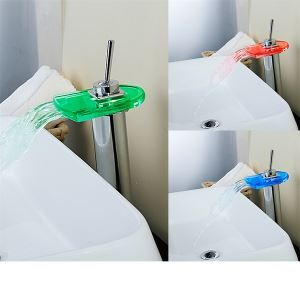 Single Lever LED Basin Faucets