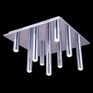 9-Light Modern Contemporary LED Ceiling Light in Square Shape