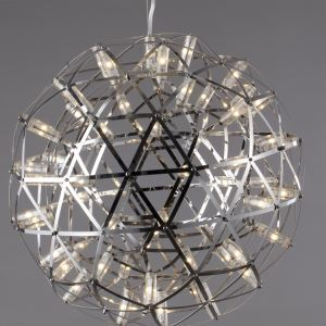 Ceiling Lights European Modern Creative Fireworks Design Round Led Stainless Steel Pendant Decorative lighting