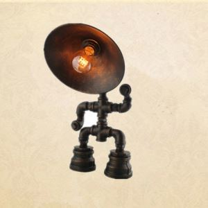 American Country Style Robort Design Table Light Indoor Decorative Metal Table Lamp