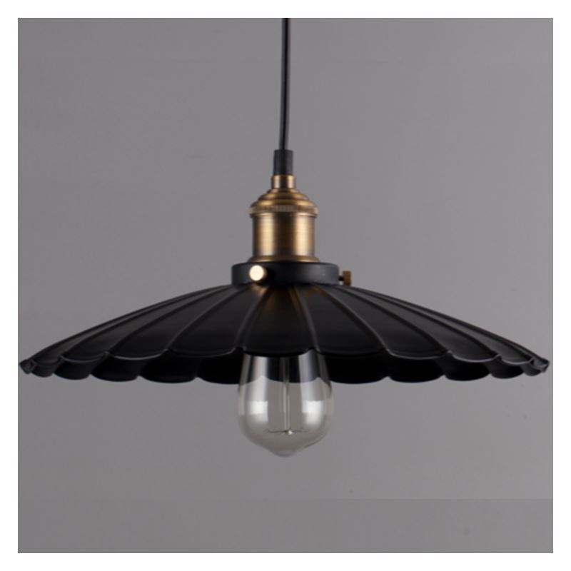 Hanging Light Round: Round Decorative Metal Pendant Light