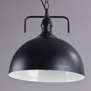 American Country Style Round Decorative Metal Pendant Light
