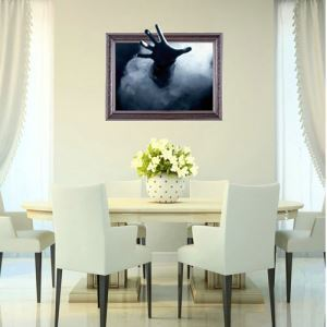 3D Wall Sticker Ghost Decorative Wall Covering PVC Washable 3D Wall Art