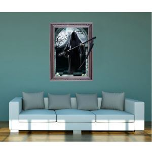 3D Wall Sticker Spooky Sprits Decorative Wall Covering PVC Washable 3D Wall Art