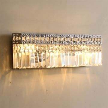 Luxury Modern Wall Lights : Lighting - Wall Lights - Crystal Wall Lights - Contemporary Modern Luxury Crystal Lamps Wall Lights