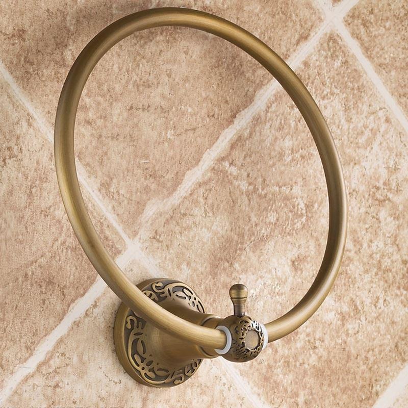 bathroom towel rings european vintage bathroom
