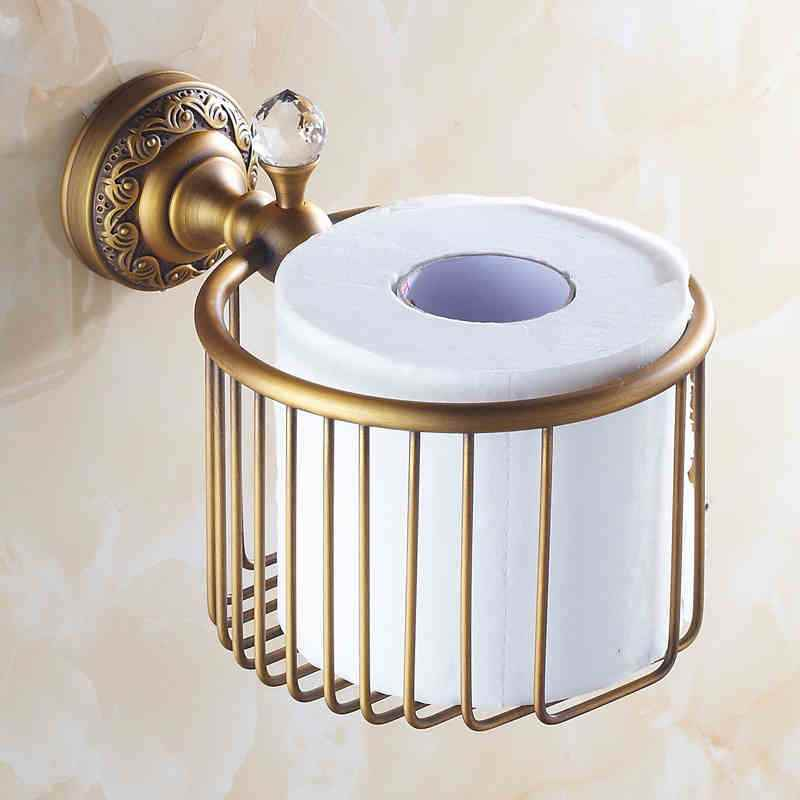 Bathroom Toilet Roll Holders European Vintage Bathroom