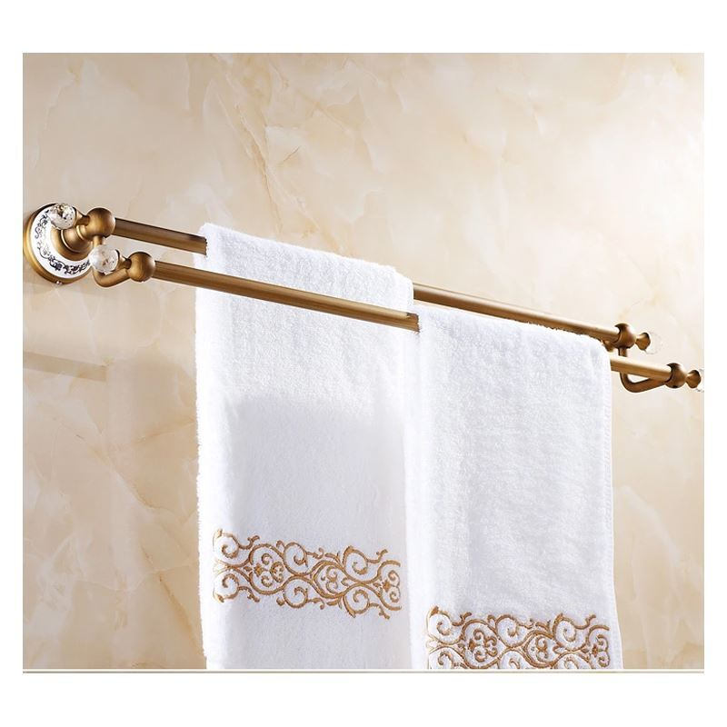 vintage bathroom towel holder