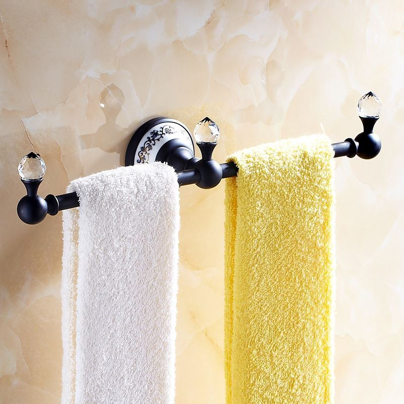 Bathroom towel bars vintage bathroom accessories orb - Bathroom towel holders accessories ...