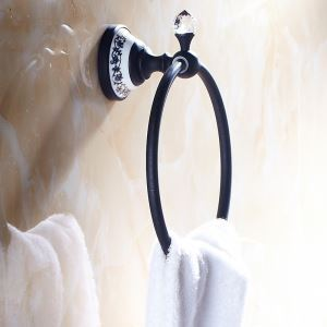 Vintage Bathroom Accessories ORB Towel Ring