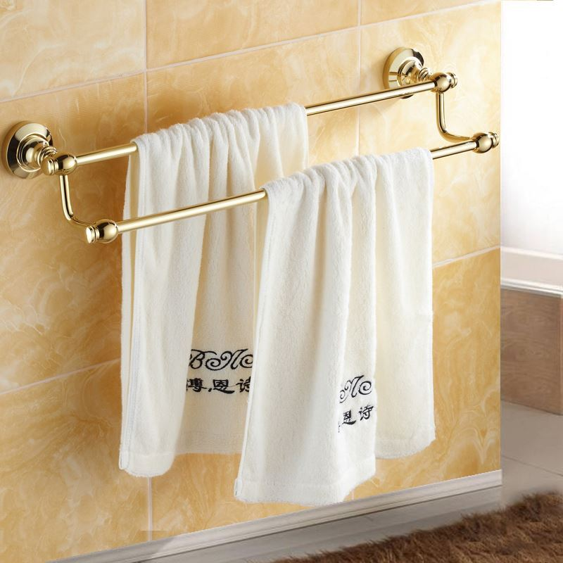 Bathroom towel bars modern bathroom accessories ti pvd - Bathroom towel holders accessories ...