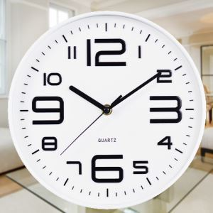 Stylish Artistic Number Wall Clock
