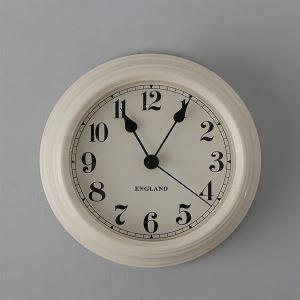 Modern Style White Wall Clock