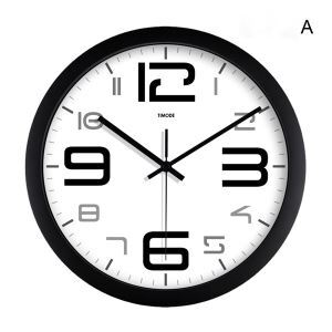 Stylish Wall Clock in Stainless Steel