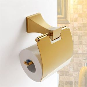 Ti-PVD Antique Wall Mount Toilet Paper Holder